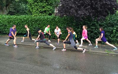 Maandag 27 augustus starten trainingen Gezond Hardlopen!